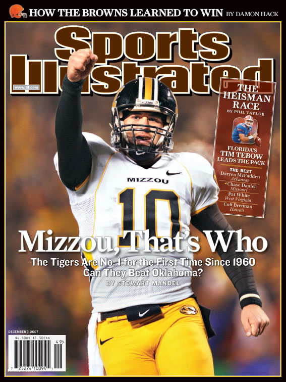 Chase Daniel on SI Cover
