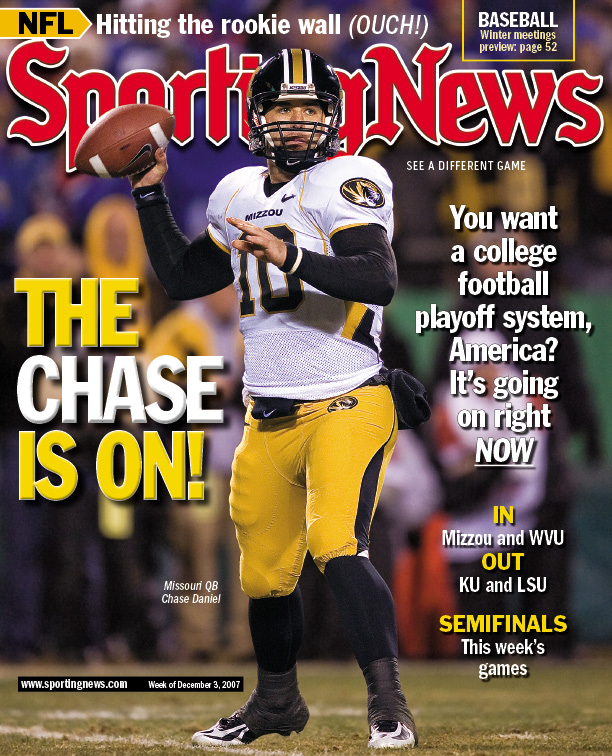 Chase Daniel on Sporting News cover